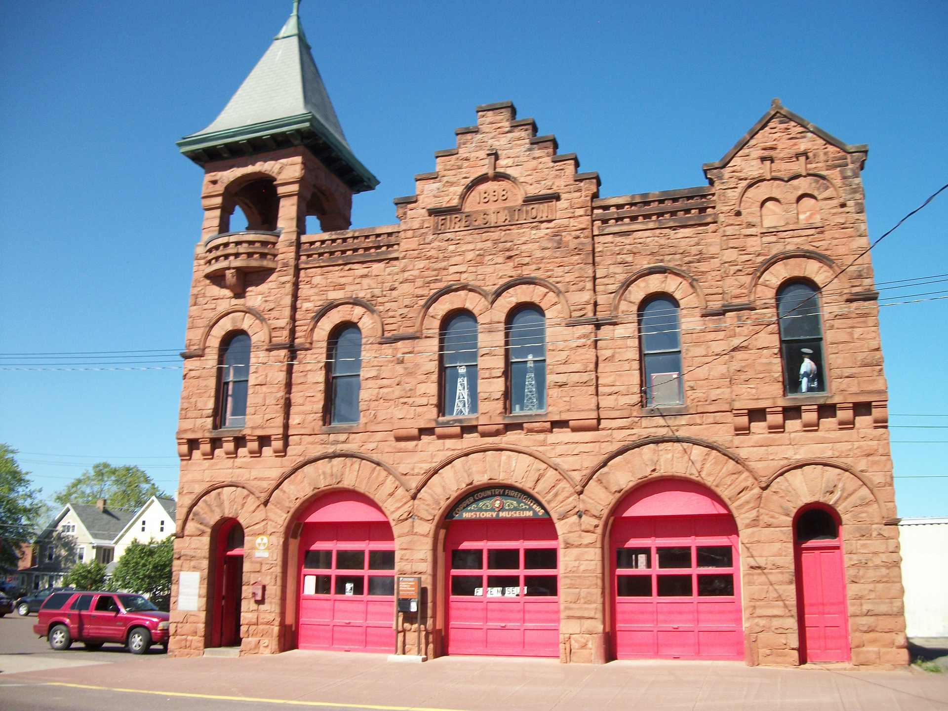 Historic Calumet, MI 1898 Fire Hall