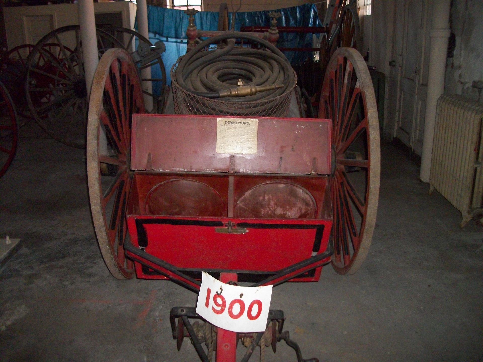 1900 Hose and Water Cart.